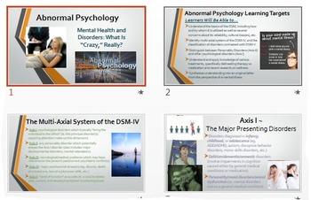 Abnormal Psychology: Exploring Mental Disorders & the DSM