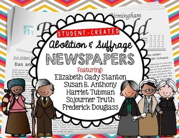 Underground Railroad, Abolitionist and Suffrage Student Cr
