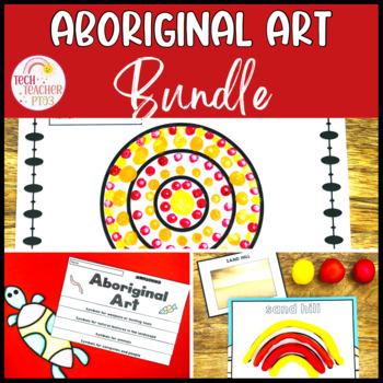 Aboriginal Art Bundle: Symbols, Flip Book, Lesson Ideas, I