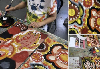 Aboriginal Art Packet with Symbolism and Story Telling