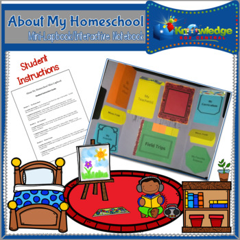 About My Homeschool Mini-Lapbook