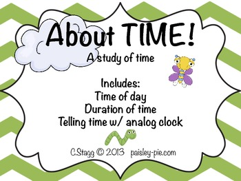 MATH: About TIME-  A Study of Time (Duration/ Analog Time