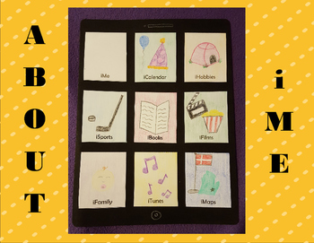 "About iMe: Get to Know Me ""iPad"" Bulletin Board Activity"