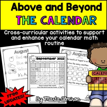 Above and Beyond the Calendar- Cross-curricular activities