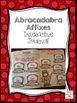 Abracadabra Affixes: Interactive Journal, PowerPoint, Prin
