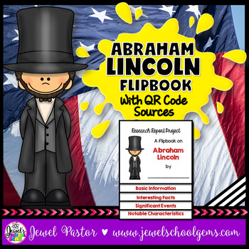 Presidents' Day Activities (Abraham Lincoln Research Flipb