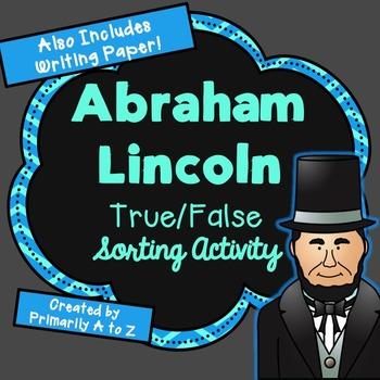 Abraham Lincoln Fact Sort