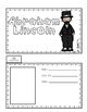 Abraham Lincoln Biography Writing Tab Book