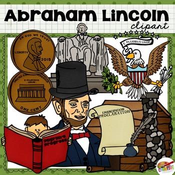 #JanTpTClipLove Abraham Lincoln Clip Art