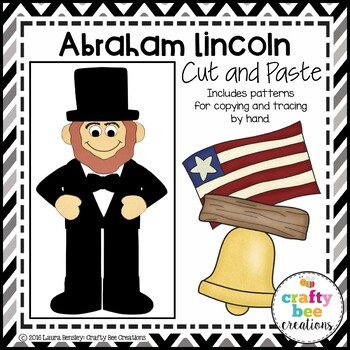 Abraham Lincoln Cut and Paste