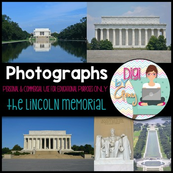 Abraham Lincoln Memorial Stock Photos - Photographs