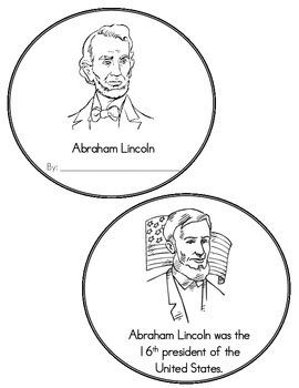 Abraham Lincoln Mini-Book