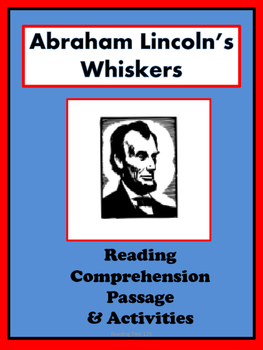 Abraham Lincoln Reading Passage and Activities