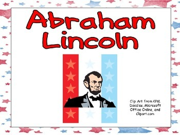 Abraham Lincoln- Shared Reading Kindergarten and First Gra
