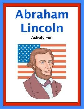 Abraham Lincoln Activity Fun