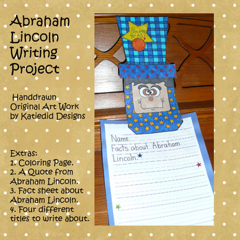 Abraham Lincoln Writing and Craft Project