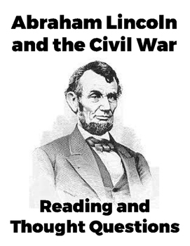 Abraham Lincoln and the Civil War Reading Interpretation G