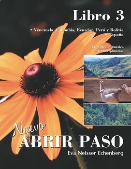 Spanish 3 - Culture for entire year - Interdisciplinary -A