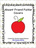 Absent Friend Folder Cover (Chevron)