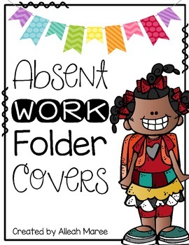 Absent Work Folder Covers