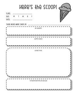 Absentee Missed Work Sheet: Here's the Scoop!