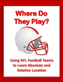 Latitude & Longitude Assignment with NFL Football Teams +