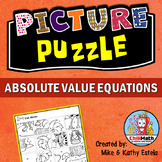 Absolute Value Equations Picture Puzzle