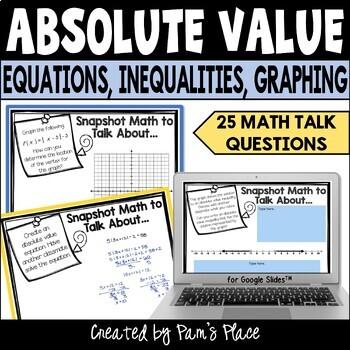 Absolute Value Math Talk