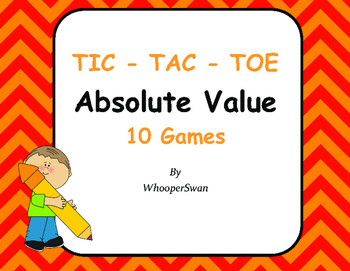 Absolute Value Tic-Tac-Toe