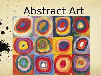 Abstract Art Introduction Power Point