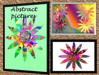 Flowers - Clip Art - Abstract pictures - Personal Use