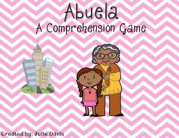 Abuela Comprehension Game Kindergarten