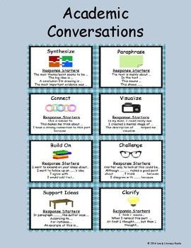 Academic Conversations Poster