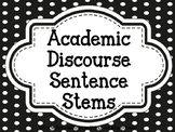 Academic Discourse Posters (plain polka dot)