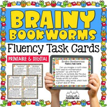 Academic Fun Fact Fluency Task Cards