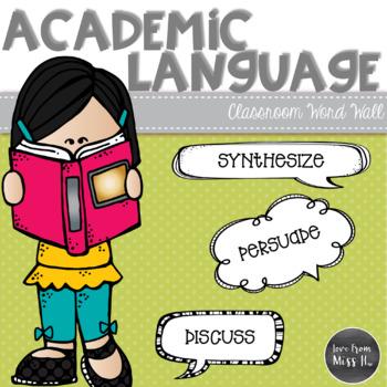 Academic Language Word Wall