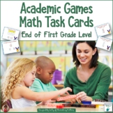 Math Review Task Cards - Olympics Theme