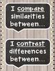 Academic Tier 2 Vocabulary Sentence Frames SHIPLAP Chalkboard