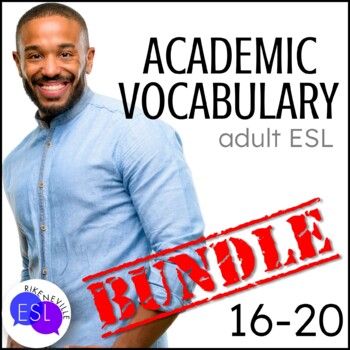 Academic Vocabulary BUNDLE 4 with Activities and Worksheets