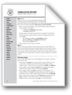 Academic Vocabulary, Grade 2: Cumulative Review/Weeks 19-26