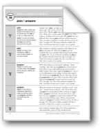 Academic Vocabulary, Grade 2: plan, prepare