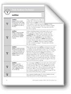 Academic Vocabulary, Grade 4: outline