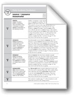 Academic Vocabulary, Grade 4: source, resource, resourceful
