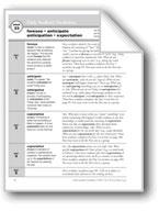 Academic Vocabulary, Grade 6+: foresee, anticipate, antici