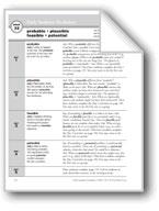 Academic Vocabulary, Grade 6+: probable, plausible, feasib