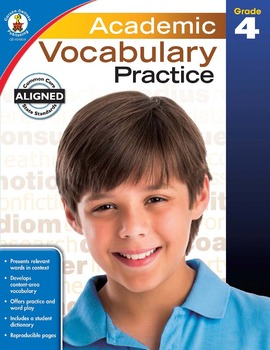 Academic Vocabulary Practice Grade 4 SALE 20% OFF! 104809
