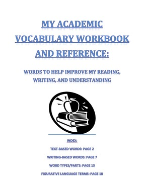 Academic Vocabulary for Reading & Writing-Student Workbook