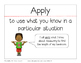 Academic Vocabulary from Common Core Standards