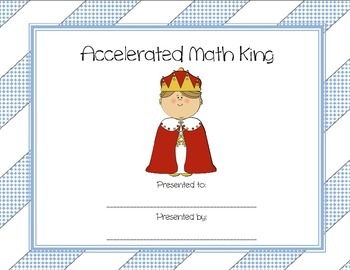 Accelerated Math King
