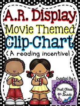 Accelerated Reader (AR) Percent Display Popcorn Clip-Chart